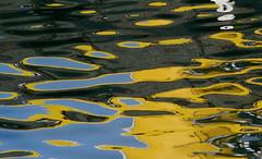 Reflection in Djúpivogur (thorrisig) Tags: ocean blue color colour reflection art nature water yellow iceland artist list abstraction colos ísland náttúra þorri thorri gulur blátt dorres speglun höfn litir djúpivogur hafnir blár listaverk listamaður sigurgeirsson endurkast þorfinnur thorfinnur thorrisig þorrisig thorfinnursigurgeirsson þorfinnursigurgeirsson