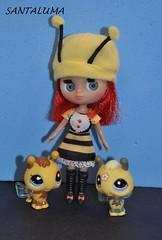 Alana e suas abelhinhas!!