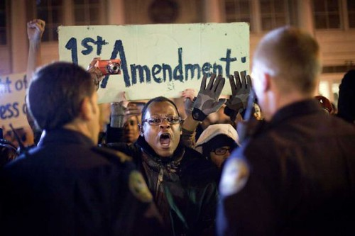 Protesters in Atlanta were arrested for demanding their right to occupy a park in line with hundreds of anti-capitalist demonstrations across the United States. Police have cracked down on the protests. by Pan-African News Wire File Photos