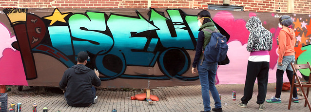 Fridge x Albus Cavus RiseUp Mural 2