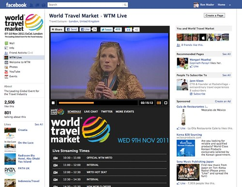 World Travel Market Live: Catherine Mack