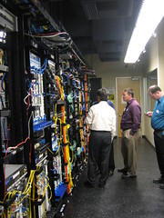 Tour of the Lab (junipernetworks) Tags: field day tour tech center security it data networking juniper routers cio switching informationsystems professionalservices netscreen junipernetworks mobilesecurity networkingsecurity routingsoftware qfabric nfd2 routinghardware trustedmobility networkingsystems