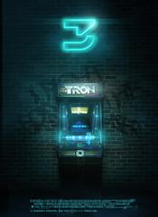 Tron 3 Concept Poster (Pixel Fantasy) Tags: movie poster arcade disney tron