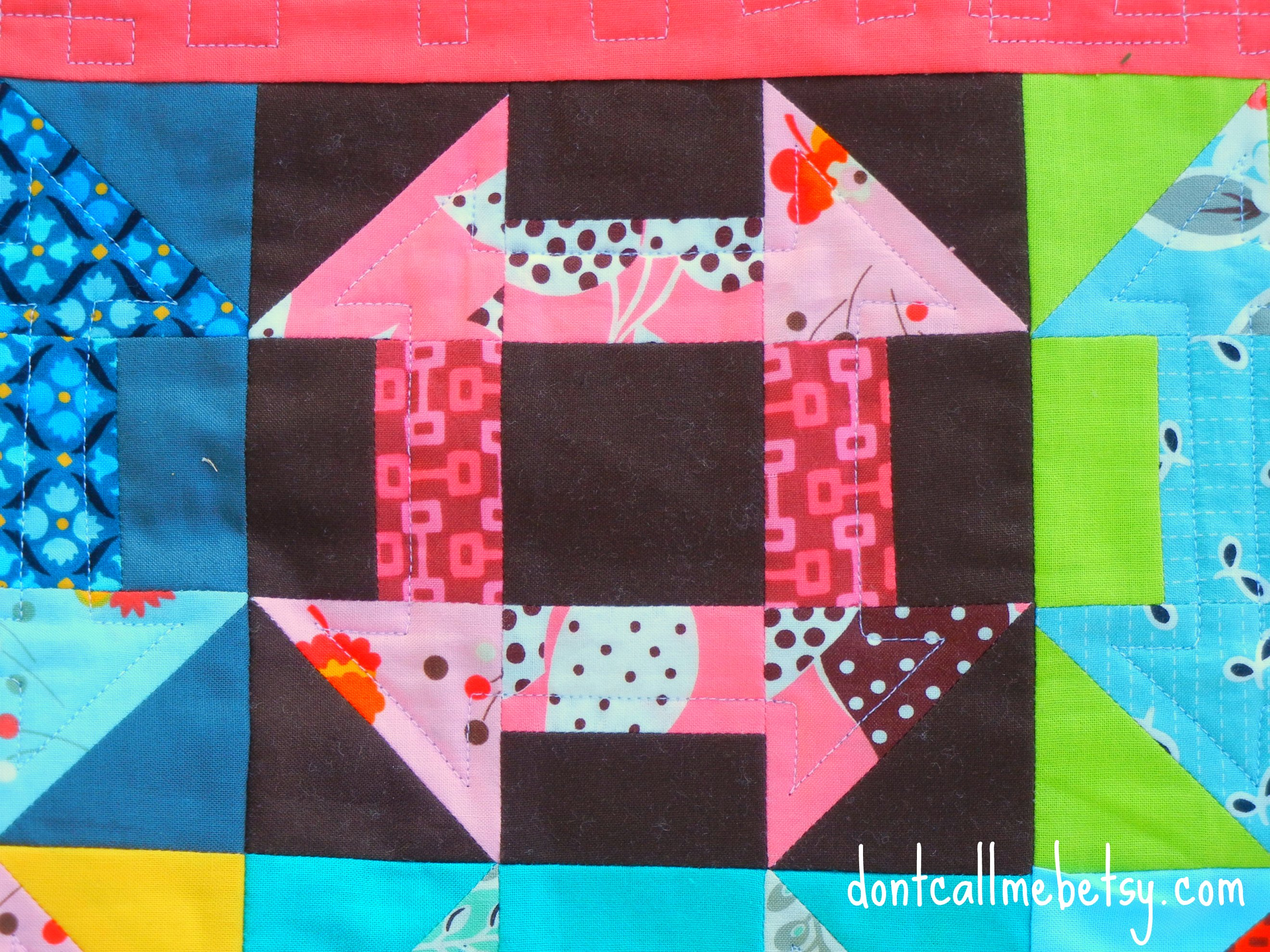 A Dash of Fancy quilting
