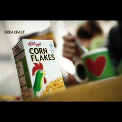 Good Morning! (Dr Cullen) Tags: breakfast corn nikon bokeh goodmorning cornflakes kelloggs 35mmf18 drcullen d300s nikond300s