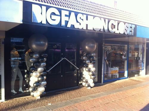 Ballonpilaar Breed Rond Big Fashion Closet Barendrecht