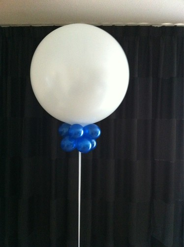 Cloudbuster Rond Pearl White Blue