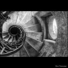 Stairwell with light (Rui Trancoso) Tags: bestcapturesaoi ruitrancoso doubleniceshot tripleniceshot elitegalleryaoi mygearandme mygearandmepremium mygearandmebronze mygearandmesilver dblringexcellence tplringexcellence artistoftheyearlevel2 asquaresuperstarstemple