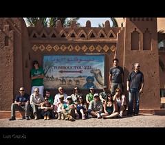 El Grupo (L. Granda) Tags: africa trip travel viaje people expedition ruta canon gente route morocco maroc marruecos zagora fotodegrupo expedicion 5dii