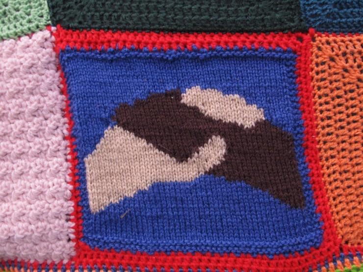 Crochet handshake