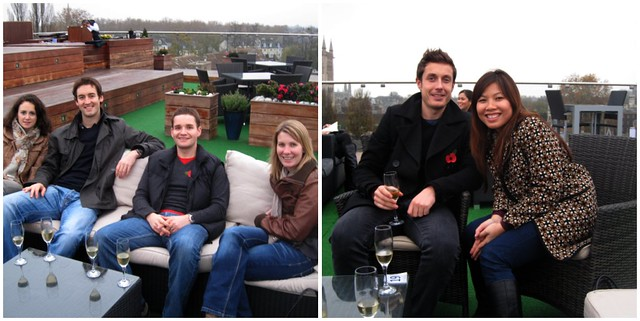 rooftop terrace, cambridge