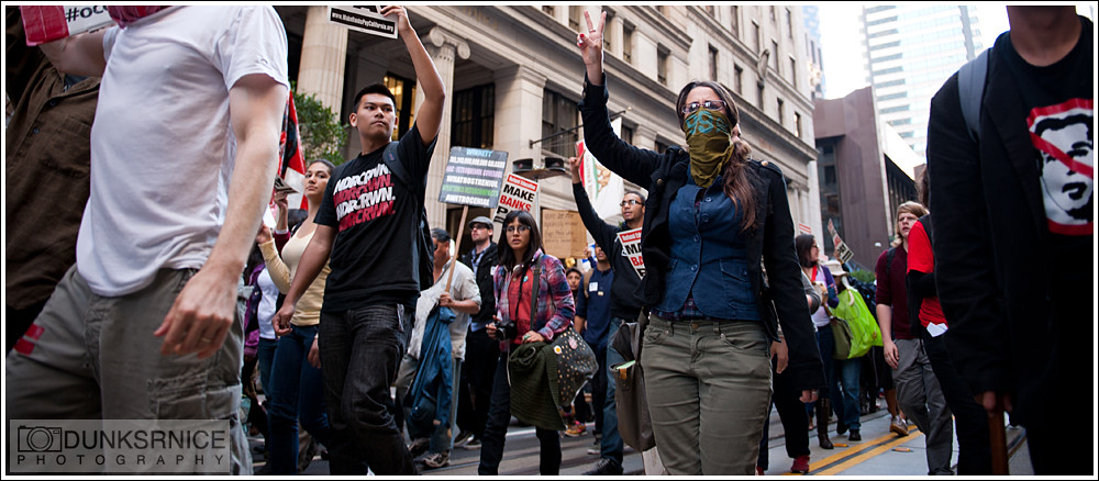 Occupy San Francisco Protest, 11.16.11