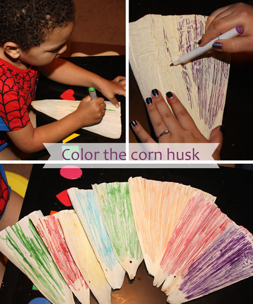 color corn husk c