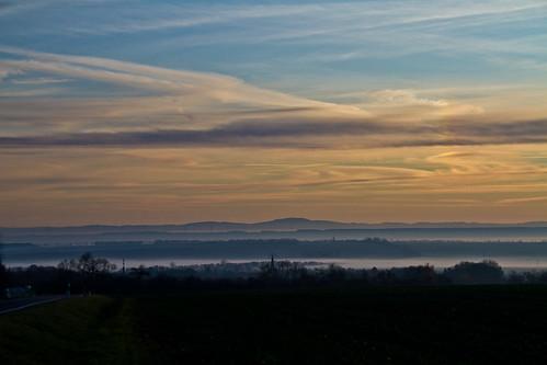 Fotografie: Kirchheilingen im Nebel