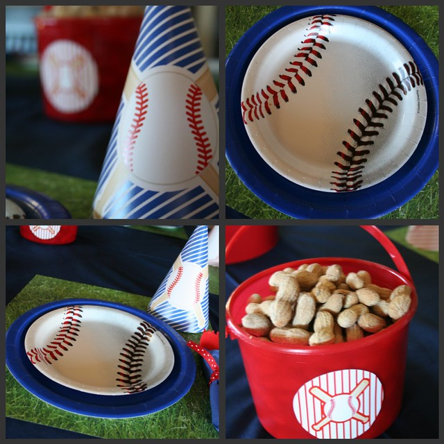 Baseball Collage - Table Setting