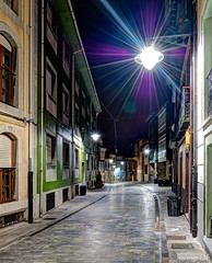 Night shot (Jaime GF) Tags: street night noche calle spain nikon asturias luanco hdr gozn d40 artistoftheyearlevel2