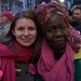 CODEPINK's Melanie Butler and Queen Mother