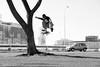 Nego bala - flip (Paullo Tavares) Tags: brazil brasília flip skateboard negobala cristianocarlos overallskate