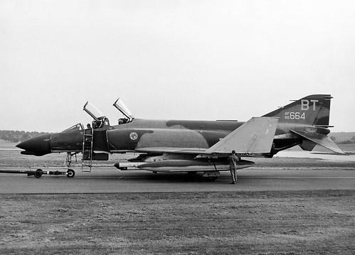 McDonnell F-4D Phantom II 66-7664-BT Bitburg 1972