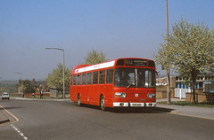 Midland Red 651 PUK651R Swad (Guy Arab UF) Tags: red bus buses station derbyshire national 1977 midland leyland 651 mk1 swadlincote puk651r
