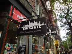 Chess NYC - Village Chess Shop Academy - 230 Thompson Street, New York (Anomalous_A) Tags: nyc newyorkcity ny newyork building architecture manhattan chess nyu greenwichvillage