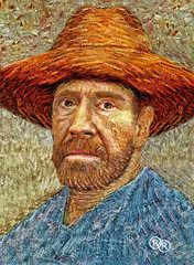 CHUCK NORRIS by Van Gogh (The PIX-JOCKEY (no comments, only views!)) Tags: fiction portrait cinema celebrity art photoshop painting star joke fake manipulation humour hollywood vip photomontage caricature ritratto vangogh chucknorris fotomontaggi texasranger robertorizzato pixjockey
