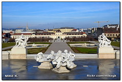 Belvedere, Vienna, Austria (Mike G. K.) Tags: vienna fountain austria statues palace belvedere wein mikegk:gettyimages=submitted