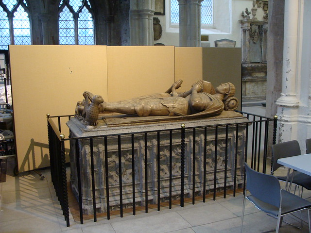 ca. 1476 - Sir John Crosby (+1476) and Agnes (+1466), St. Helens Church, Bishopsgate, London, England