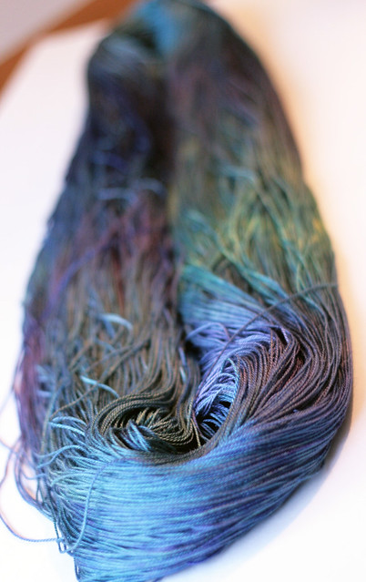 special skein of silk for Mom