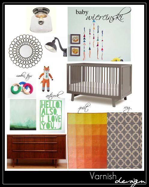 Wiercinski Baby Nursery Design Scheme 2
