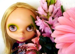 blythe and flowers