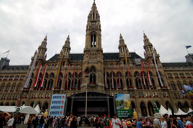 維也納市政廳前音樂節