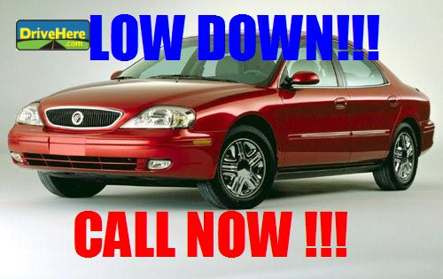 Mercury Sable 2002 Here at Drivehere.com for only $500.00 due at signing