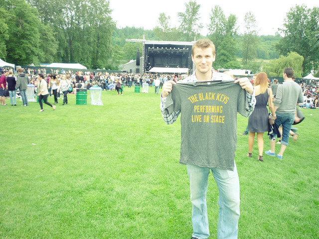 New Black Keys shirt at Deer Lake