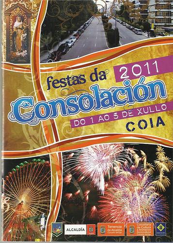 Vigo 2011 - Festas da Consolación en Coia - cartel