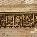 Floral terracotta moulding on the Mausoleum of II Arslan