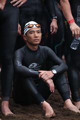Iron Man Korea (Jeju) 2011 3 (DSLR_MANIA) Tags: beach start canon eos korea seoul southkorea jeju triathlon  markii   2011  jejuisland ironmankorea republickorea  zuidkorea  5dmarkii dslrmania 5dm2 5dmark2 republiquedecoree poblachtnacoire  ef70200mmf28lisiiusm canonef70200mmf28lisiiusm