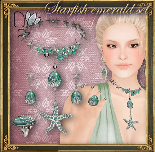 STARFISH-emerald-set