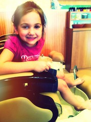 My Best Girl & I Getting Pretty Toes by Mish Mish