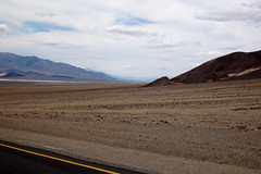 looking into death valley