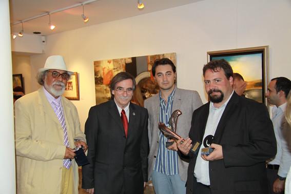 Antonio Calderon de Jesus, Alvaro Lobato de Faria, Fabianni Belemuski, Héctor Martínez San