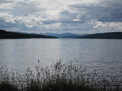 Loch Rannoch (shirokazan) Tags: uk mountains canon cycling scotland united kingdom powershot perth cycle loch kinloch touring kinross rannoch s95 bcq