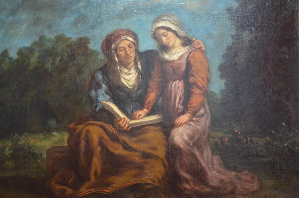 L'Education de la Vierge - Delacroix