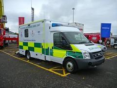 New Ford Transit Peadiatric ICU (barronr) Tags: scotland glasgow secc neonatal scottishambulanceservice paediatric yorkhillchildrensfoundation emergencyscotland2011