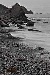 (Garfuna) Tags: bw byn mar cabo asturias playa gozon bn peas cabopeas asturies llumeres nikonflickraward d3100