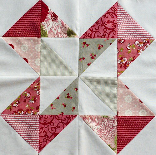 Dutch Pinwheel Block for AnneMarie