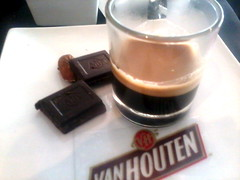 Van Houten Chocolate with Espresso Shot