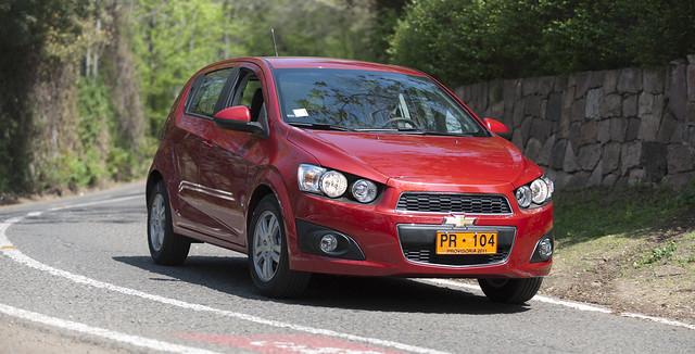chevrolet sonic 2012 hatchback sedán
