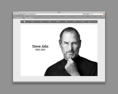 Steve Jobs 6 Oct 2011