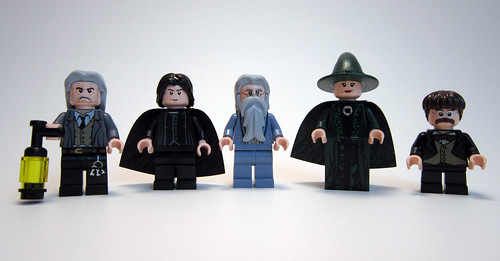 Hogwarts Castle - The Professors